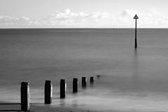 Groynes (zulu Impi) Tags: blackandwhite beach devon groynes teignmouth nd110filter