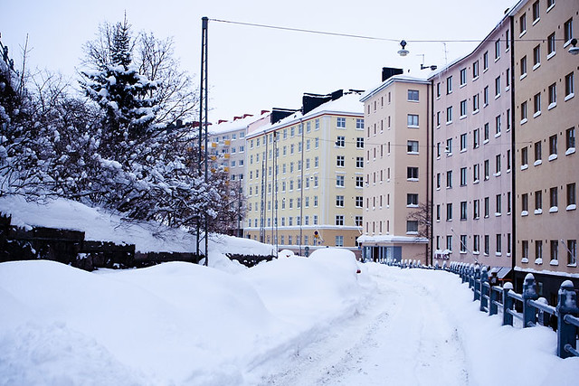 Kallio Covered In Snow