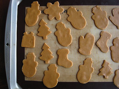 Cut-Out Sugar Cookies On Pan Gluten-Free, Refined Sugar-Free, Dairy-Free