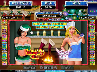 Naughty of Nice slot presents