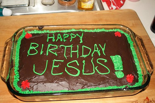 Happy Birthday, Jesus