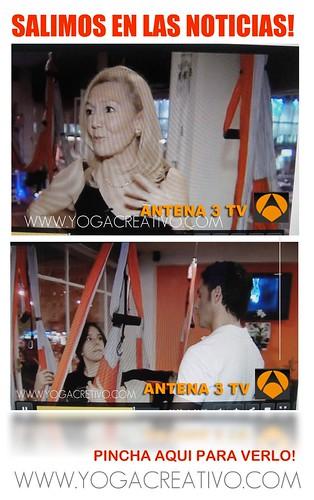 EL AERO YOGA LLEGA A ESPAÑA , TV