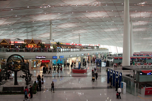 Beijing Airport ... one of the nicest I have been in.
