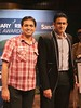 Myself and Anil Kumble