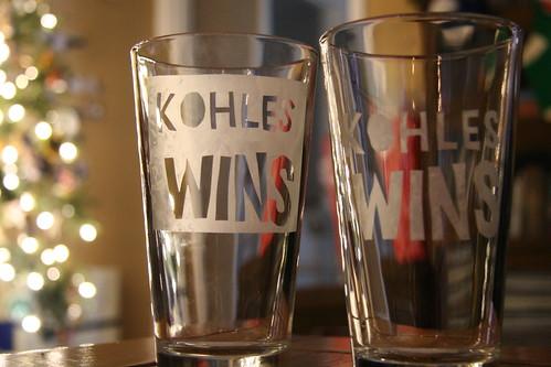 kohles wins!!