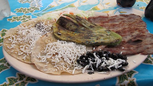 Cactus and grilled meat!