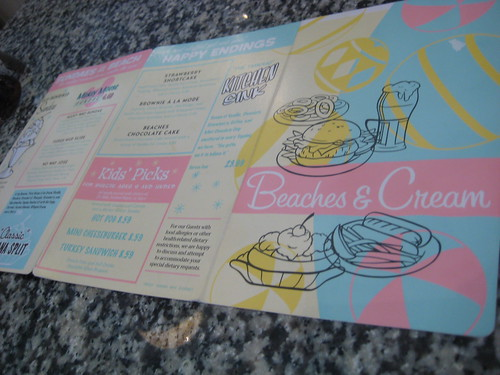 Menu @ Beaches and Cream, Beach Club