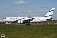 4X-EAC - 22974 - El Al Israel Airlines - Boeng 767-258ER - Luton - 100421 - Steven Gray - IMG_0187