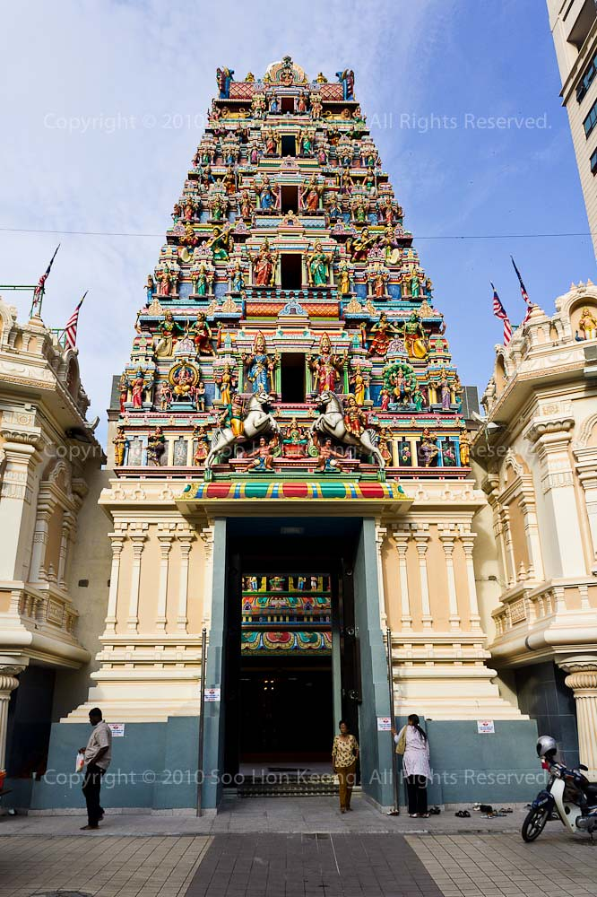 Sri Maha Mariamman Temple Dhevasthanam, KL, Malaysia