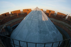 Atop Kamenets Tower (lemmingby) Tags: travels towers panoramas trips belarus stitched kamenets brestregion