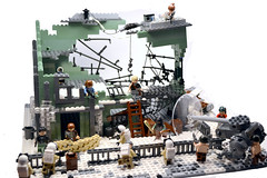 The Outpost (. soop) Tags: lego mr dec bbc resistance outpost apoc moc gaa soop brickarms apocalego