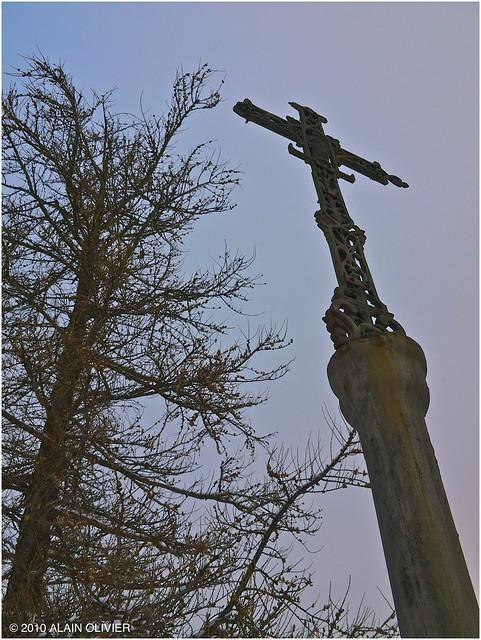 Une vieille croix dans la forêt 5301507252_18419d6960_z