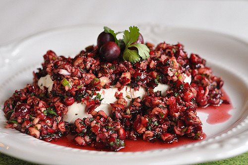 New Year's Eve Appetizers: Cranberry Salsa
