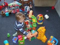 Thomas Playing