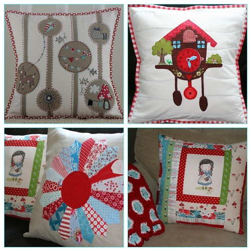 pillow talk swap ~ all four rounds!