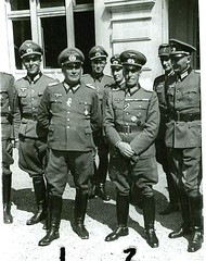 German Officers With General (Make Oxygen... Kill Co2...Plant More Trees) Tags: world old horse brown field fashion vintage germany army boot grey belt 1930s clothing war uniform sam general boots military von helmet retro riding 1940s jacket cap german sword ww2 warsaw uniforms coats marshal officer visor 1939 cavalry generals reich medals officers breeches militaryofficer ridingboots uniformjacket fieldmarshal armyofficer ridingbreeches wearinguniform officerinuniform germanarmyofficer germanarmygenerals officerwearinguniform 194019411942194319441945
