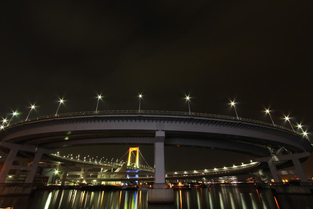 Rainbow bridge illumination 16(TOKYO)