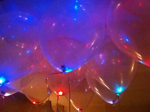 Heliumballonnen met Kleuren LED verlichting