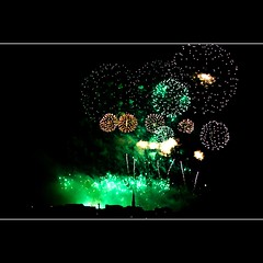 New Year Fireworks 2011 1 (Steve Graham42) Tags: scotland edinburgh flickr fireworks sony alpha happynewyear edinburghfireworks a550 sonyalphaa550