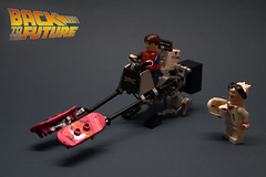 "Back to the Future  Speeder Bike (""Orion Pax"") Tags: bike lego bttf speeder"