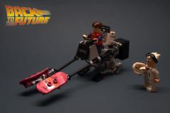 """Back to the Future  Speeder Bike (""""Orion Pax"""") Tags: bike lego bttf speeder"""