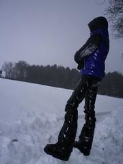 IMGP0044 (Karhu1) Tags: schnee snow shiny jacket nylon snowsuit jacke overall skianzug