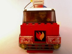LEGO Fire Engine - Front