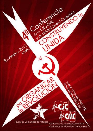 [Asturies] El próximo 8 de enero de 2010, IV Conferencia de los CJC/CMC y de Unidad Juvenil Comunista con la JCA en Uviéu. 5316119639_2458009364