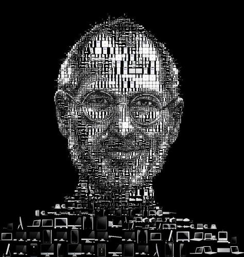 Steve Jobs 2011 (black)