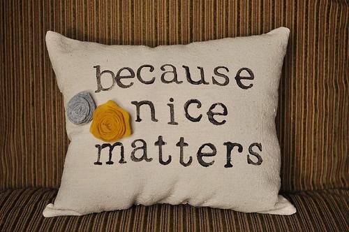 Daily Reminder Pillows