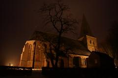 Kerkje in de Mist (Geert-Jan Kettelarij) Tags: winter snow church architecture photo foto sneeuw kerk weer lange doetinchem sluitertijd kettelarij