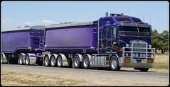 Pascoe K108 Road Train (quarterdeck888) Tags: tipper trucks roadtrain kenworth pascoes k108 truckphotos bigcab jerilderietruckphotos jerilderietrucks