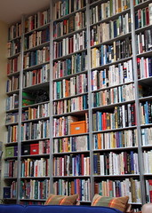 Wall of Books (Mr. T in DC) Tags: books storage dcist shelving bookshelves shelves paperbacks organized homelibrary spacesaving wallofbooks decluttering paperbackbooks homelibraries