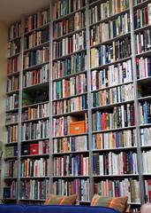Wall of Books (Mr.TinDC) Tags: books bookshelf storage shelf dcist shelving bookshelves shelves paperbacks organized homelibrary spacesaving wallofbooks decluttering paperbackbooks homelibraries
