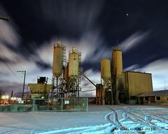 Danger 8' Deep (Ken Cadel) Tags: longexposure snow lightpainting industry night clouds nikon industrial windy breeze trenton d700 nikonafs1735mmf28d nikond700 kencadel