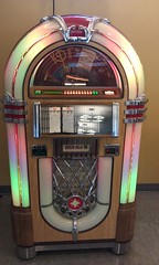 Our cafeteria's jukebox