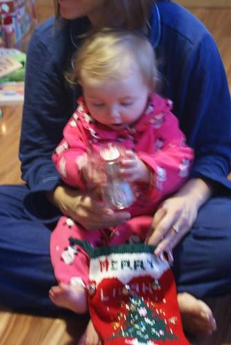Lilah on Christmas Morning
