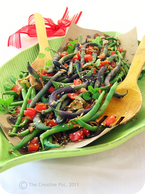 Green Bean Salad for Momd-w