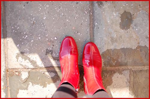 salt underfoot