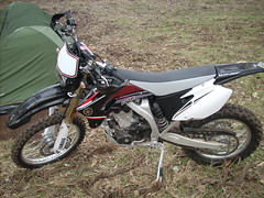 Yamaha WR 450F (Larry_Tate) Tags: bike motorbike trail yamaha wr wr450f 450f