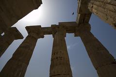 Temple of Hera (Cymbidium Clarisse) Tags: sea italy island greek temple ancient europe mediterranean italia sigma wideangle sicily 1020mm sicilia doric selinunte hera templee