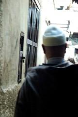 Trip to Morocco, Fes in winter -245 large (frieda ryckaert) Tags: morocco medina fes islamicworld moroccanman feselbali medinaoffes