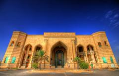 Al Faw Palace (SounDan) Tags: army military iraq palace baghdad airforce saddam usaf deploy hussein deployment alfaw operationnewdawn combad