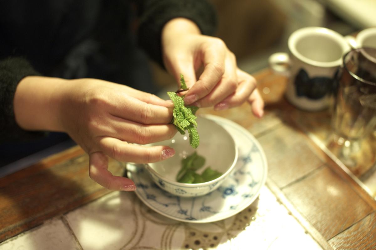 2011-01-11 mint tea
