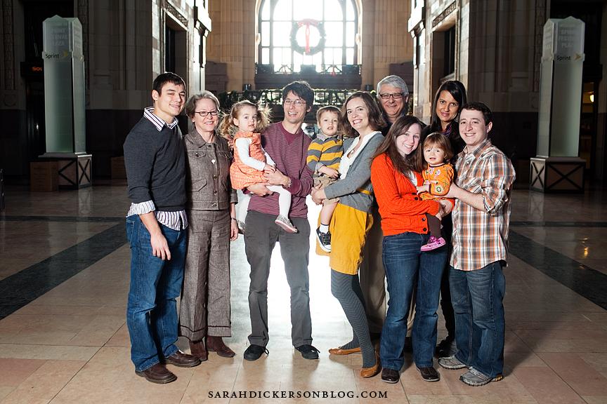 Kansas City family photography Union Station