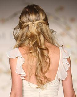 penteado solto de noiva