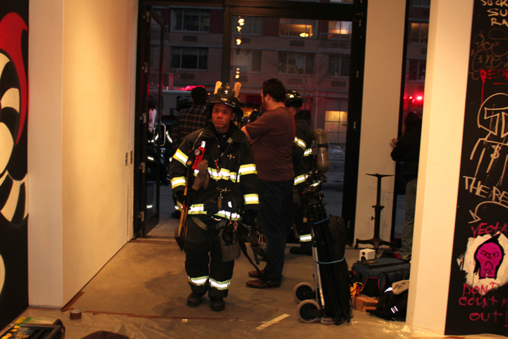 2011/01/09 Firemen Showed Up Because of the Fumes.