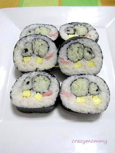 animal pattern sushi