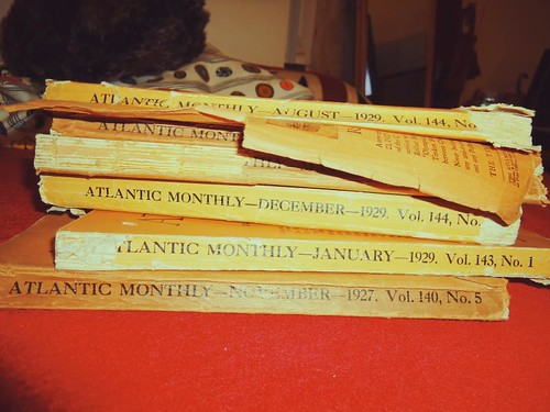 Atlantic Monthly - 1920s