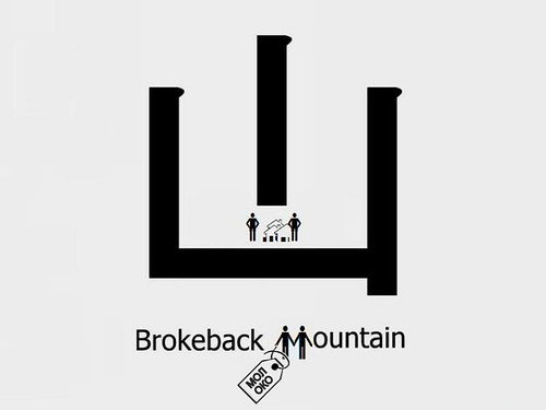 New Chinese Character - Brokeback Mountain